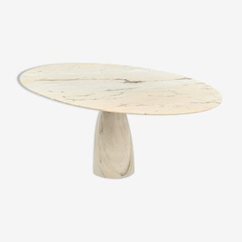 Table basse en marbre par Peter Draenert