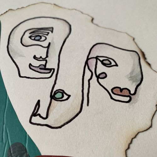 Collage 'Andrea' de la série 'Names'