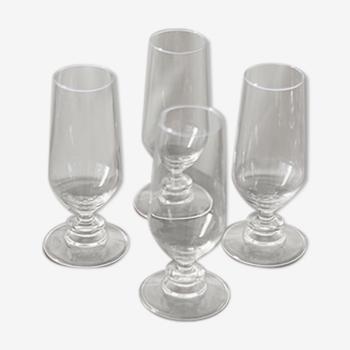 Set de 4 flûtes à champagne