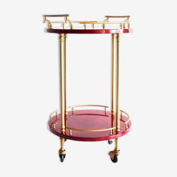 Un chariot de bar italien par Aldo Tura