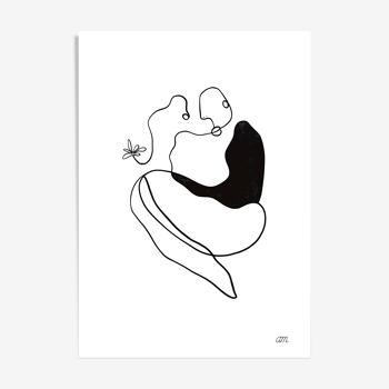"""Illustration N°02 """" Vénus """" collection """" Les divinités """""""