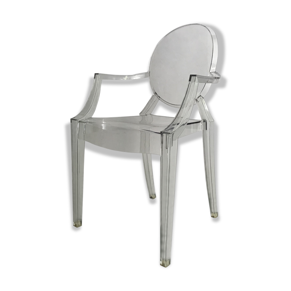 Fauteuil Louis Ghost by Kartell