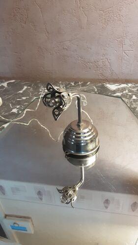 Lampe ancienne forme tulipe