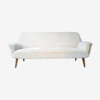 Swedish sofa Scandinavian restored 50 years