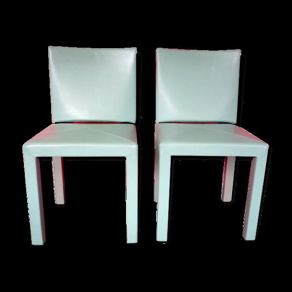 Paire de chaises arcara de Paolo Piva éditées par B&B Italia