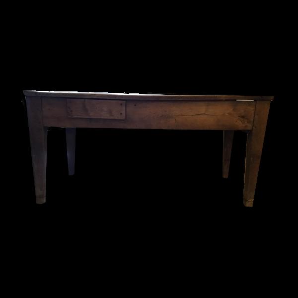 Table de ferme en bois ancienne
