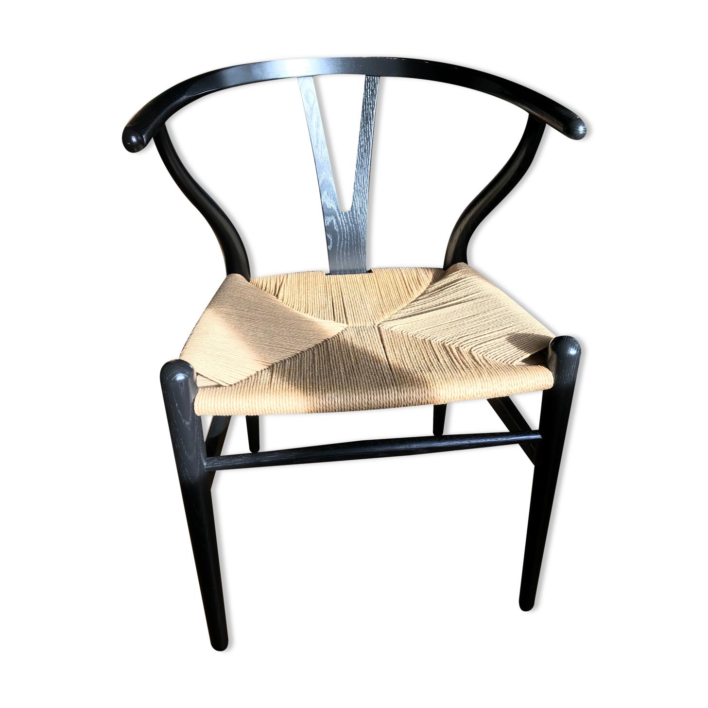 Chaise CH24 Wishbone par Hans Wegner pour Carl Hansen Danemark