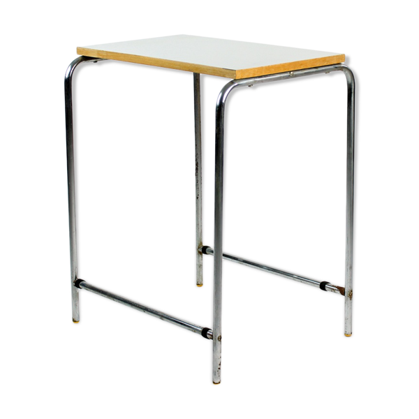 Table en chrome et formica, Tchécoslovaquie, circa 1960