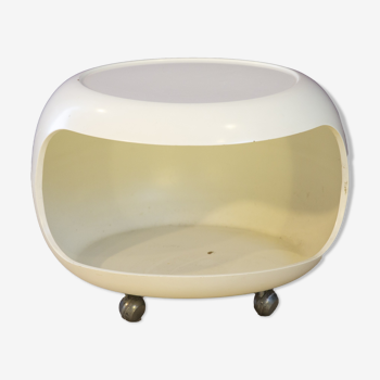 White Side Table for Horn Collection
