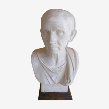 Buste en plâtre - caton l'ancien - moule des beaux arts XlXeme