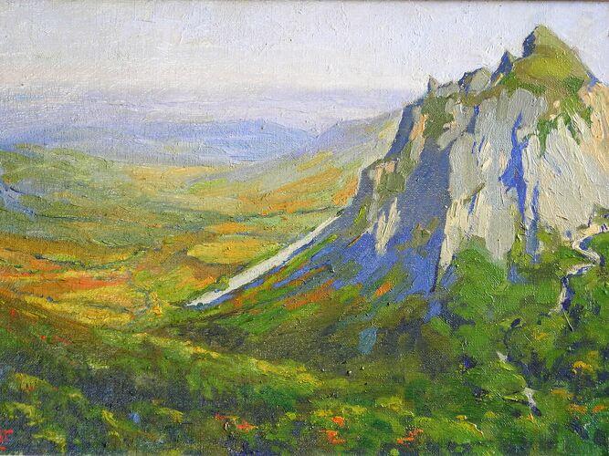 Les roches Tuilière et Sanadoire de J. Bornot XIX-XXème