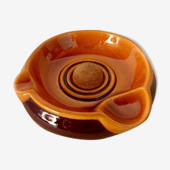 Cendrier vintage en céramique