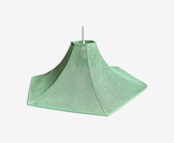 Suspension osier tresse vert