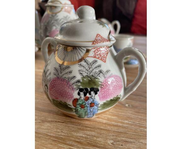 Service à thé vintage Japonais