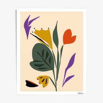 """Tirage """" Bouquet"""""""