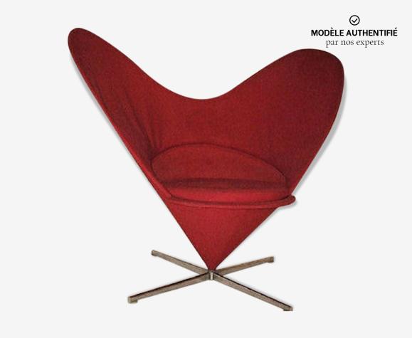 Fauteuil Heart Cone par Verner Panton pour Vitra