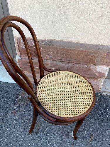 Chaise bistrot bois courbé bistro