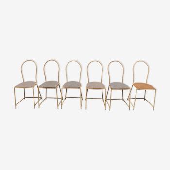 Lot de chaises Paola Navone pour Gervasoni
