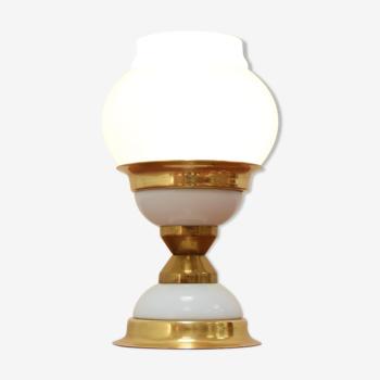 Lampe de table du milieu du siècle par Jablonecke Sklarny années 1970.