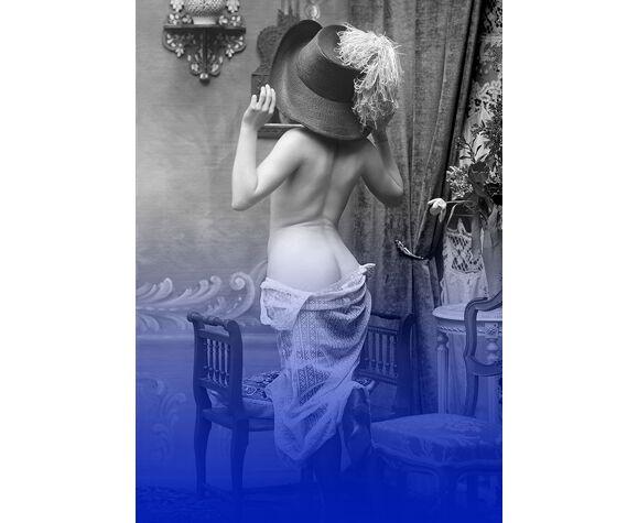 Nu photographie dos femme Belle Époque - 1920