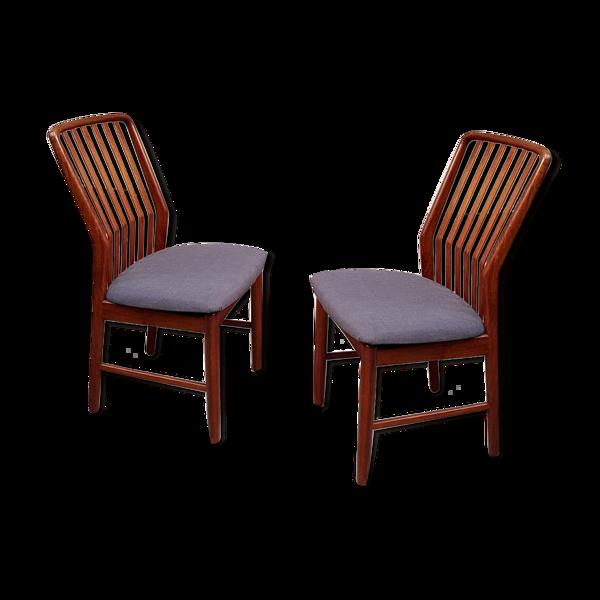 Selency Lot de 4 chaises à manger par Svend Aage Madsen