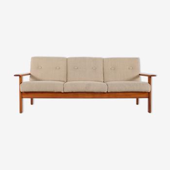 Scandinavian bench fabrics light wool