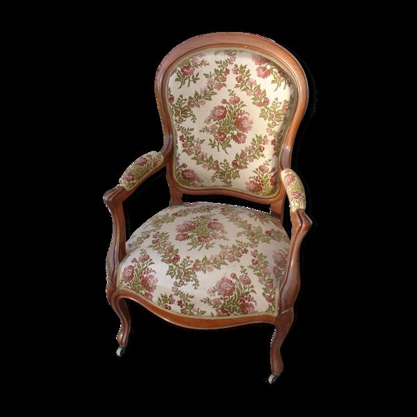 Fauteuil en acajou vers 1840