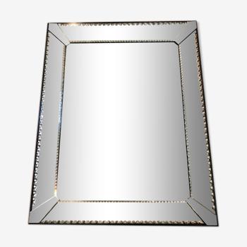 Miroir vénitien années 50 57x72cm
