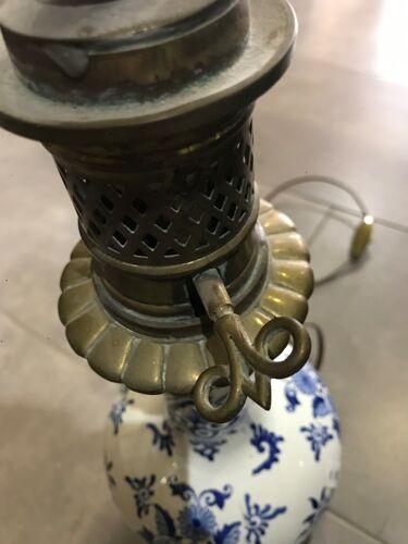 Ancien pieds de lampe