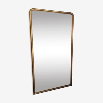 Miroir bois doré louis-philippe «pala»