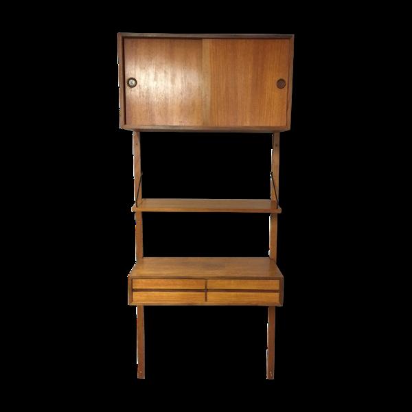 Selency Bibliothèque modulable Royal System par Poul Cadovius Danemark 1950 /1960