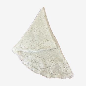 Nappe ovale dentelle
