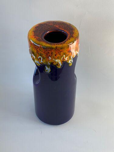 Vase Bertoncello en céramique des années 70
