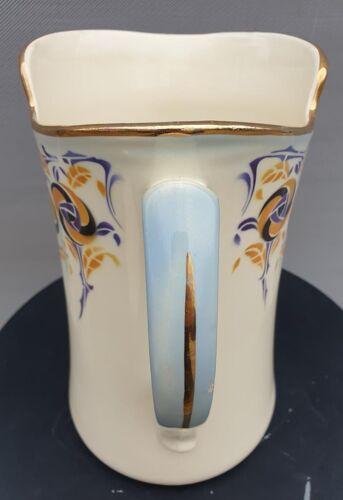 Broc de toilette art déco modèle turban