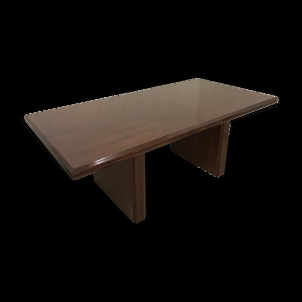 Selency Table en acajou palissandre