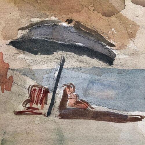 "Tableau ""La plage"""