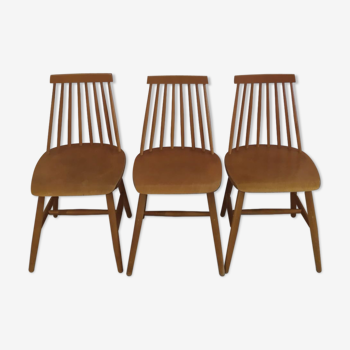 """Chaises modèle """"stockholm"""" Ikea années 70"""