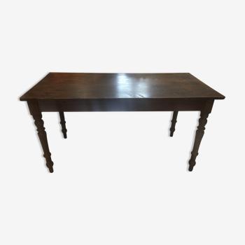 Alsatian brasserie table