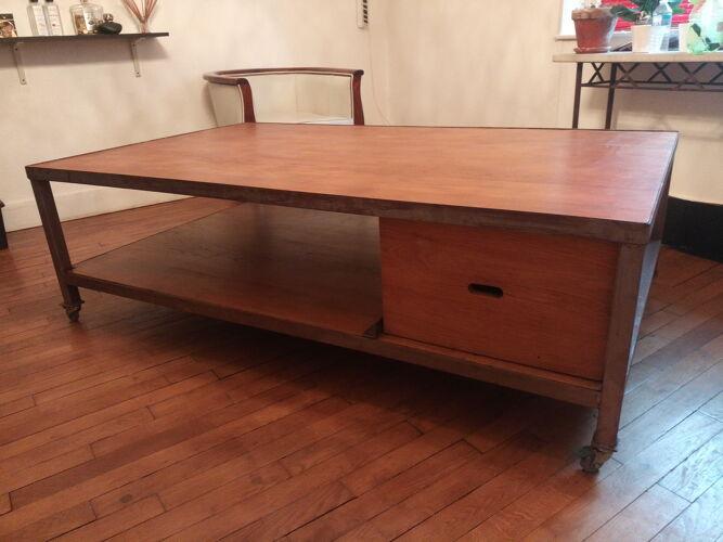 Table basse industrielle