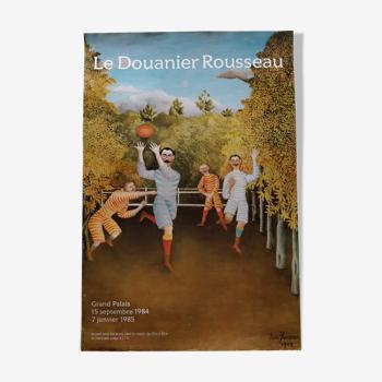 Affiche Le douanier Rousseau