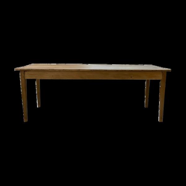 Selency Table de ferme chêne et pin 2m