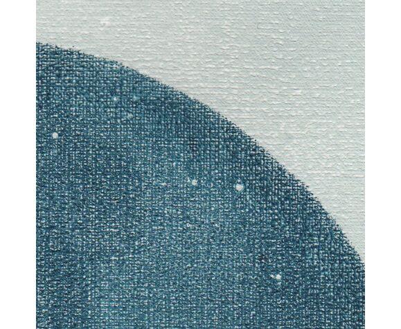 Peinture sur papier 30x40cm illustration datée et signée sans cadre