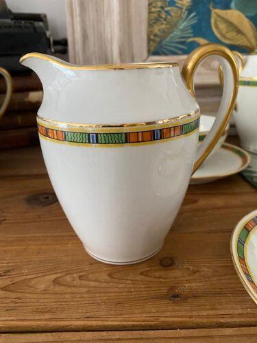 Service à café thé porcelaine de Limoges vintage