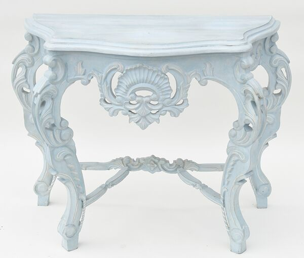 Console rocaille