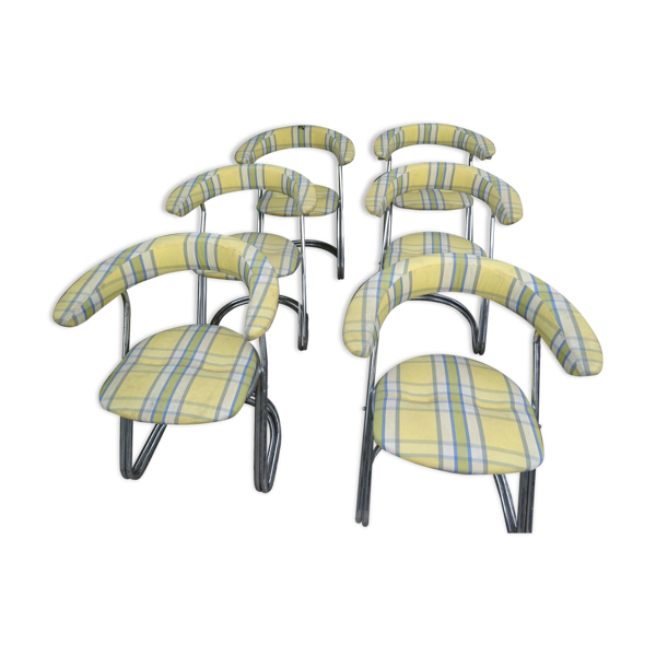 Suite de 6 fauteuils