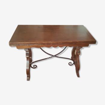 Table espagnole fer forgé