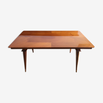 Table salle à manger bois massif style scandinave