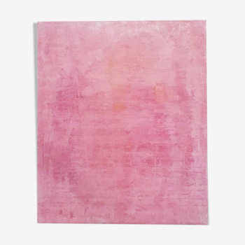 Painting contemporary art rose