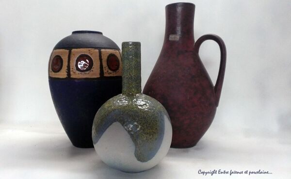 Ensemble de vases Ruscha Keramik