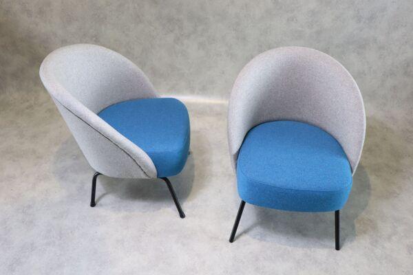 Paire de fauteuils Theo Ruth
